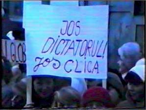 Imagini de la Revolutia din 1989 - Radauti