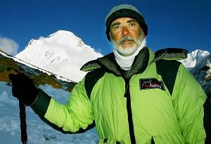 Pierre Maina in Tibet.