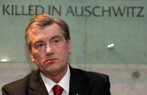 Preşedintele Ucrainei, Viktor Iuşcenko.