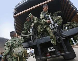 Aproape 380.000 de columbieni strămutaţi în 2008 din cauza conflictului