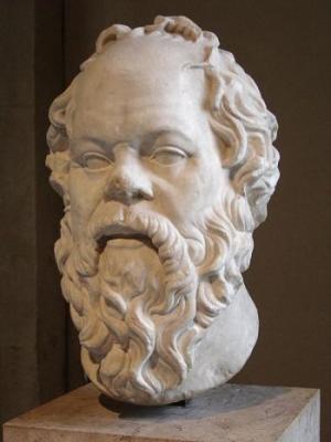 Socrate – statuie din marmura