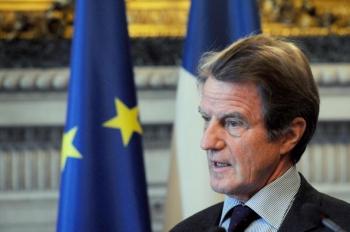 Bernard Kouchner, ministrul francez de Externe