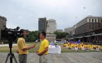 Jason Wang a ajuns recent in Philadelphia.