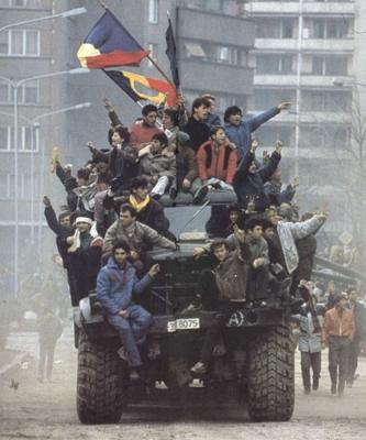 Revoluţia română din 1989.