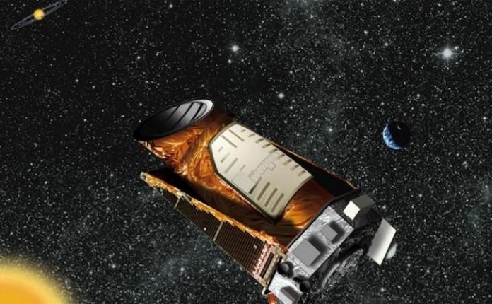 Desen infatisand conceptul lui Kepler intr-un sistem solar distant