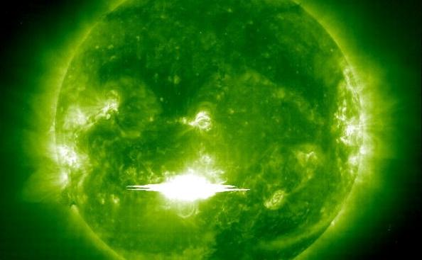 Ejectie solara de masa