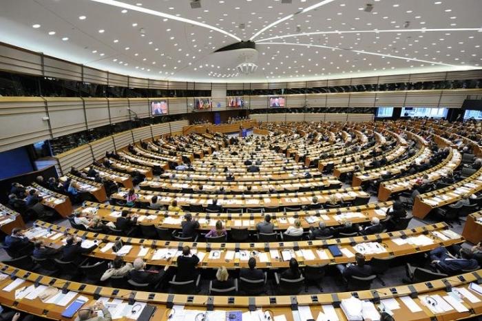 Sediul parlamentului european din Bruxelles.