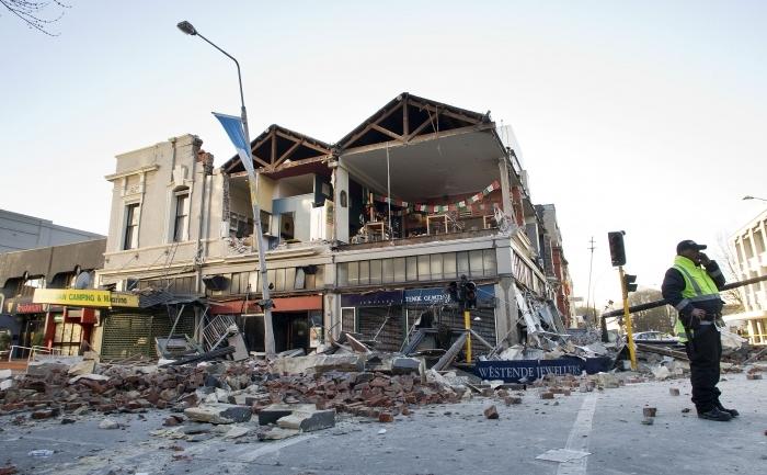 Daramaturi cauzate de cutremurul de 7,1 pe scara Richter care a lovit orasul Christchurch din Noua Zeeelanda, 4 septembrie 2010