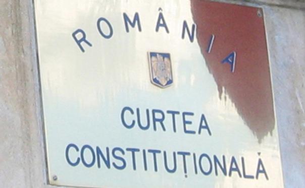 Curtea Constitutionala a Romaniei (CCR).