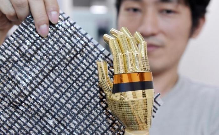 Un material elastic ce contine nanotuburi de carbon. Un cercetator japonez a descoperit ca nanotuburile de carbon au efecte negative asupra sanatatii asemanatoare cu cele produse de azbest