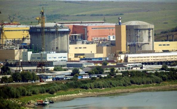 Vedere generala a centralei nucleare de la Cernavoda