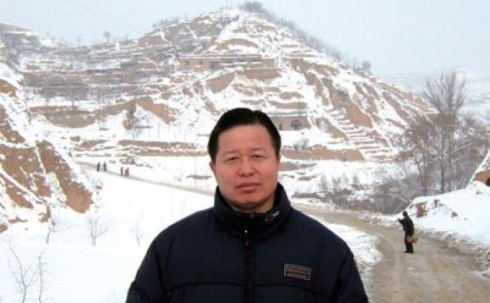 Binecunoscutul avocat chinez pentru drepturile omului Gao Zhisheng.
