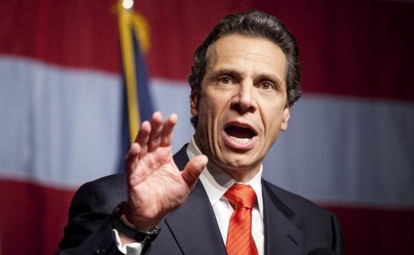 Democratul Andrew Cuomo, noul guvernator al statului New York.