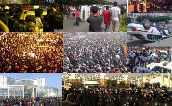 Proteste China: mai multe proteste în masă au izbucnit în China în 2010 şi amploarea şi intensitatea lor a depăşit cu mult pe cele din anii anteriori. Editorii Epoch Times de ştiri din China au selectat şi au ales cele mai semnificative zece proteste în acest articol
