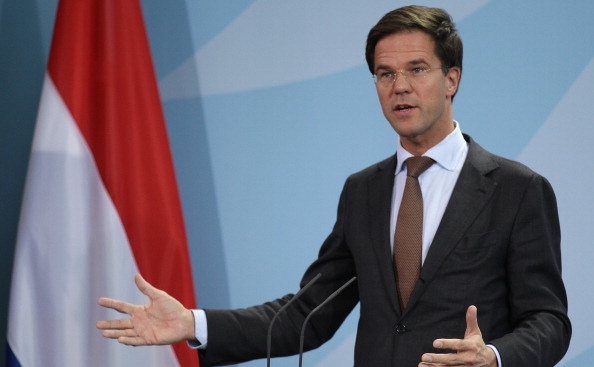 Premierul olandez Mark Rutte.