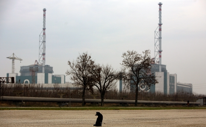 Centrala de la Kozlodui, singura centrala nucleara din Bulgaria.