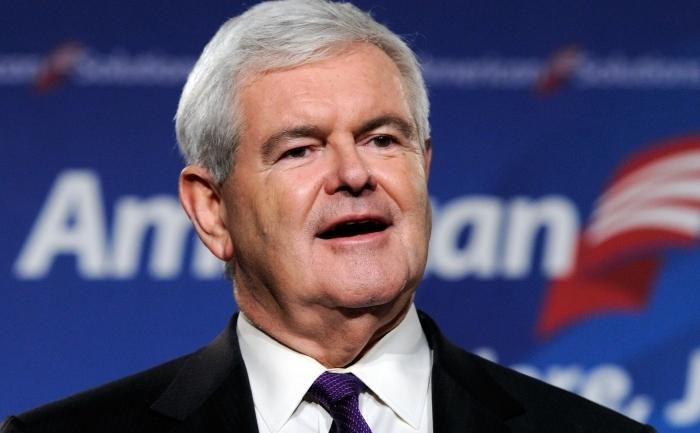 Fostul presedinte al Camerei Reprezentantilor, Newt Gingrich.