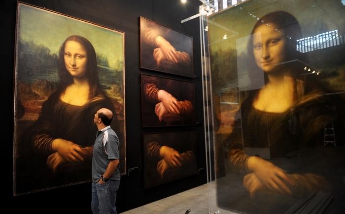 Leonardo da Vinci, Gioconda.