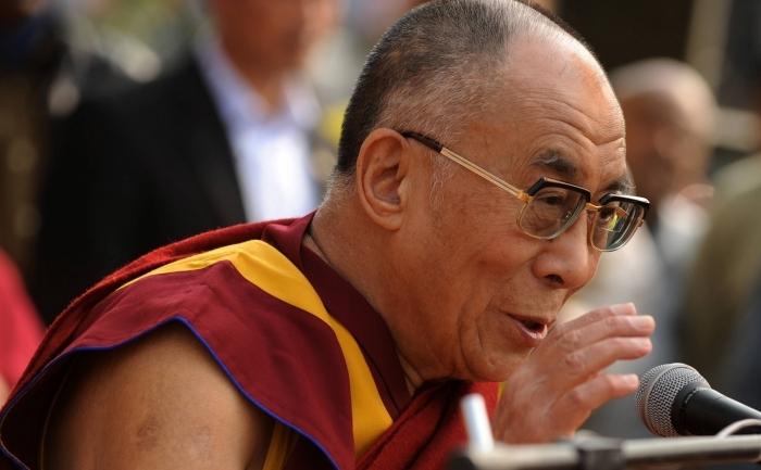 Liderul spiritual tibetan, Dalai Lama.