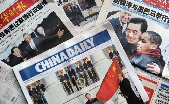 Mass-media chineza deseori fabrica stiri si se supun organului de propaganda al Partidului Comunist.
