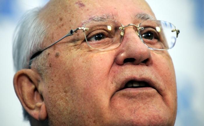 Ultimul preşedinte sovietic, Mihail Gorbaciov.