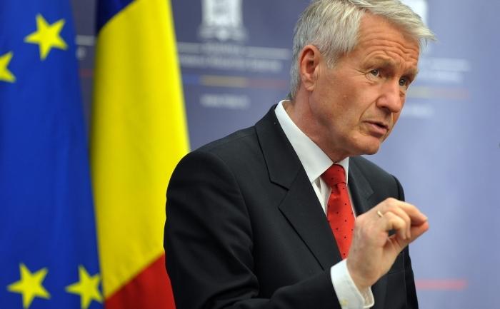 Thorbjorn Jagland, secretarul general al Consiliului Europei.