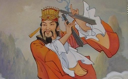 """Cao Gotszyu - unul din cei """"Opt Nemuritori Chinezi"""" (""""Ba Xian"""")"""