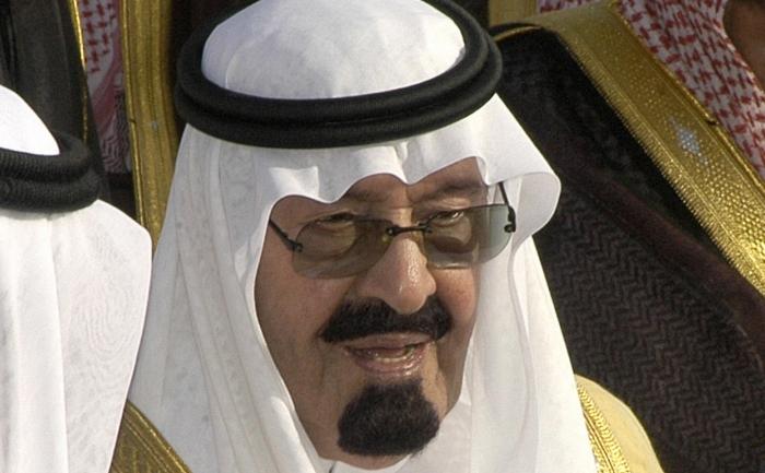 Regele Abdallah bin Abdul Aziz al Arabiei Saudite.