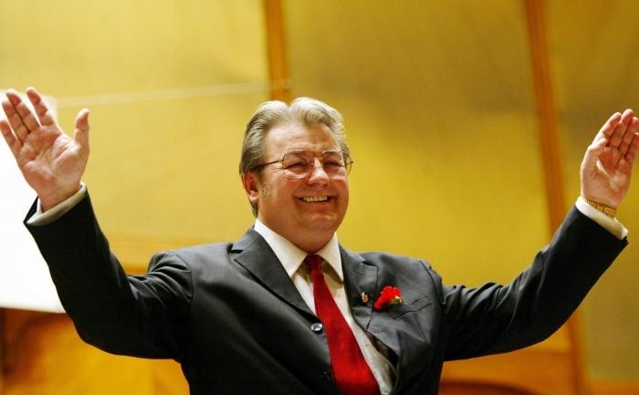 Preşedintele Partidului România Mare, Corneliu Vadim Tudor