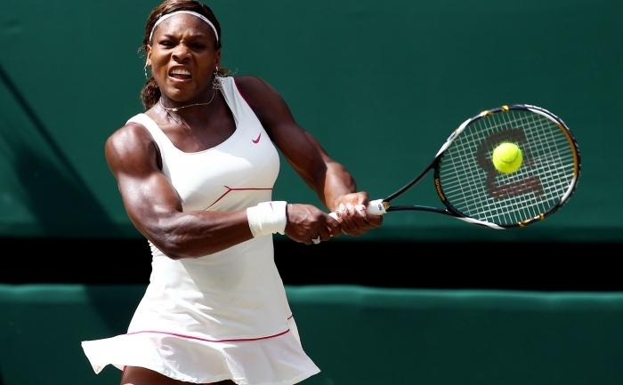 Jucătoarea americană de tenis, Serena Williams