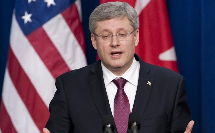 Premierul canadian Stephen Harper