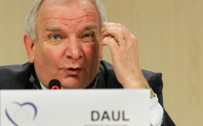 Preşedintele grupului PPE, Joseph Daul.