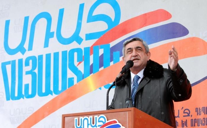 Serzh Sarkisyan, arhiva
