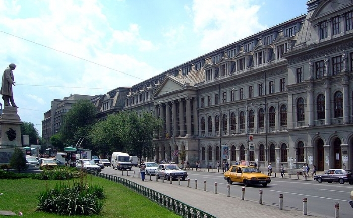 Clădirea principală a Universităţii din Bucureşti
