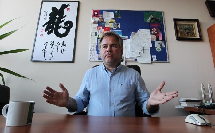 Evgheni Kaspersky, directorul companiei ruse Kaspersky Lab, ce a pus la punct programul antivirus care îi poartă numele.