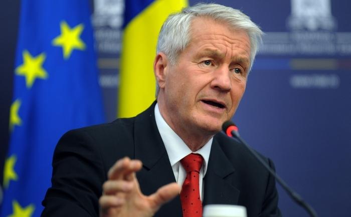 Secretarul general al Consiliului Europei, Thorbjorn Jagland
