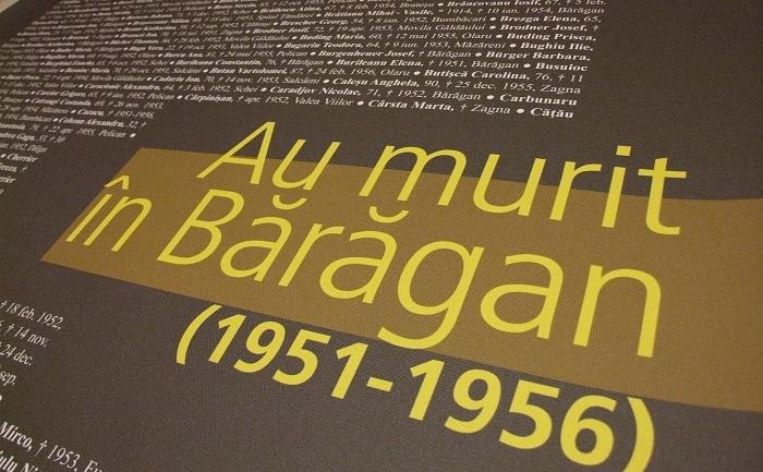 Expozitia 'Rusalile Negre: Deportarea in Baragan'.