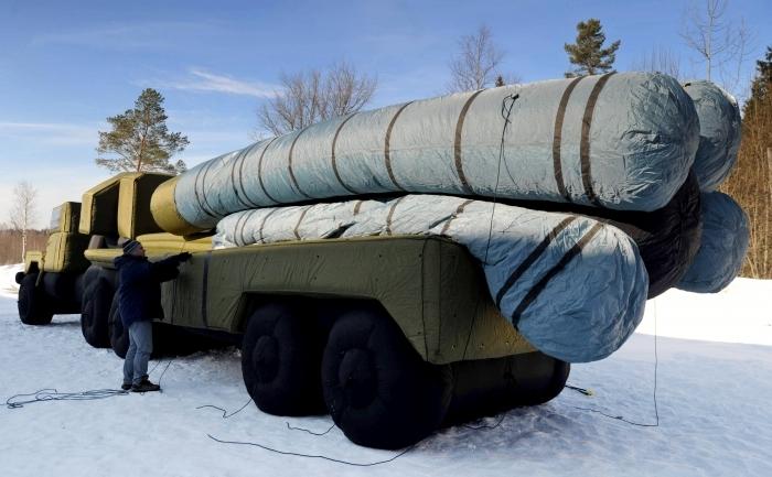 Lansator de rachete S-300.