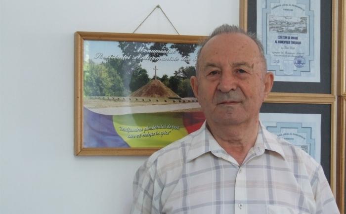 Dr. Pop Ioan, fost vice-presedinte al Asociatiei Fostilor Detituti Politici, Timis.