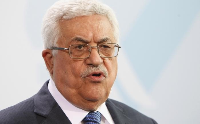 Preşedintele Autorităţii Palestiniene Mahmoud Abbas.