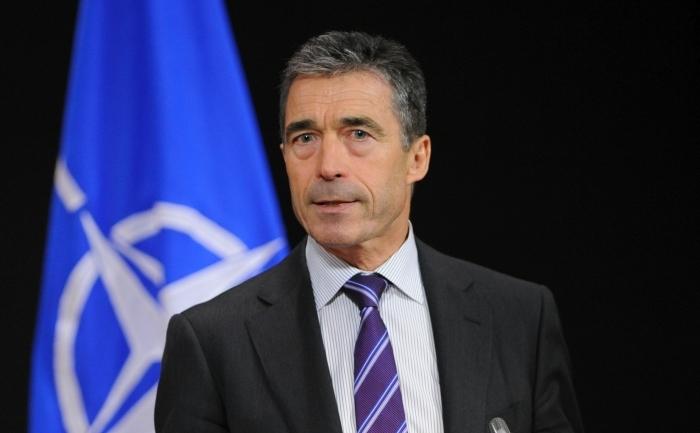 Secretarul general al NATO, Anders Fogh Rasmussen.