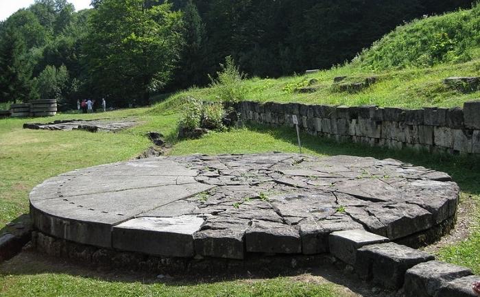 Discul solar, Sarmizegetusa Regia