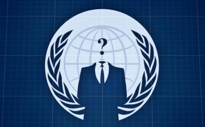 Logo-ul organizatiei de hackeri Anonymous Operations. Grupul a postat circa 90.000 de adrese de email apartinand militarilor, impreuna cu adresele acestora pe un web site torrent.