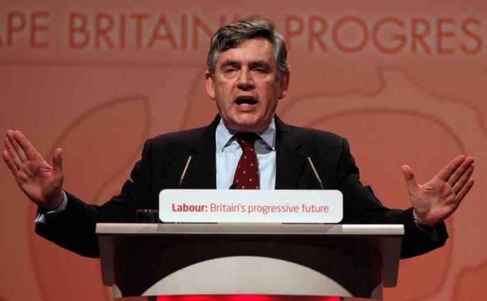 Fostul premier britanic Gordon Brown.