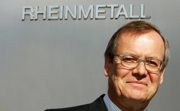 Klaus Eberhardt, directorul companiei Rheinmetall, care produce tehnologie militara, Dusseldorf