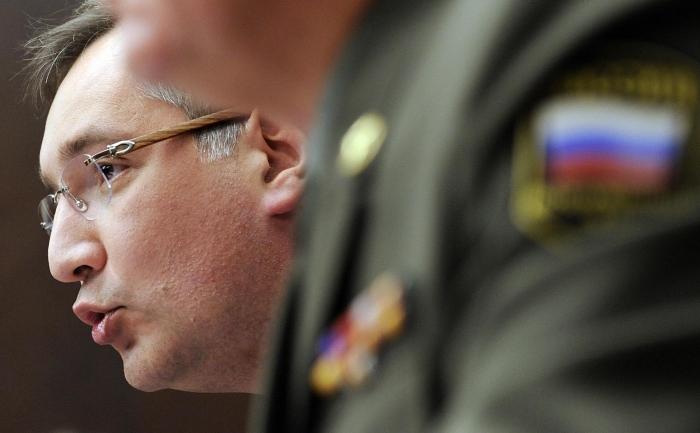 Fostul reprezentant rus la NATO, Dimitri Rogozin.