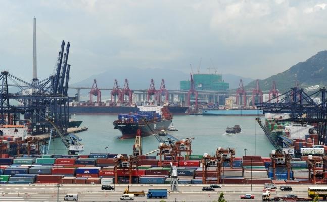 Transporturile maritime din portul Hong Kong-ului (foto) sunt investigate pentru legaturi cu Iranul.