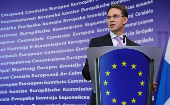 Vicepreşedintele noii Comisii Europene (CE), Jyrki Katainen.