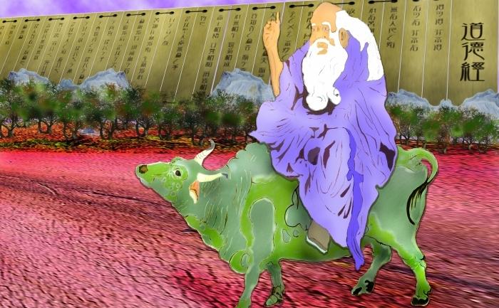 Laozi a aparut pe un bivol acvatic