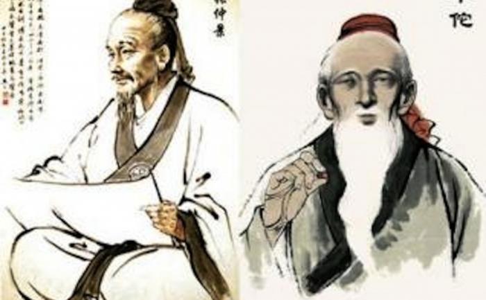 Zhang Zhongjing şi Hua Tuo, doi mari medici din timpul dinastiei Han din China